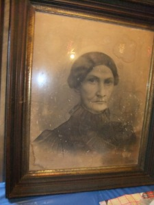 Langhorne,  portrait of Elizabeth Rachel Omohundro Langhorne