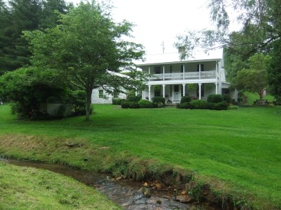 Spangler homestead, Meadows of Dan