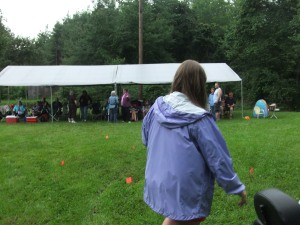 Spangler reunion, view of tent