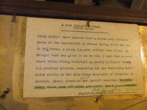 Spangler story aboutspurs