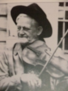 Spangler, Dudley with fiddle