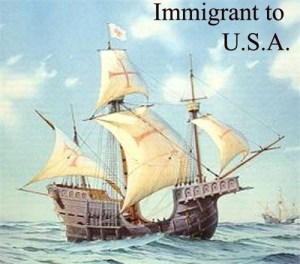 Immigrant ship picture for ancestry