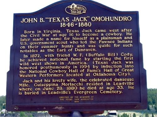 Omohundro, Texas Jack
