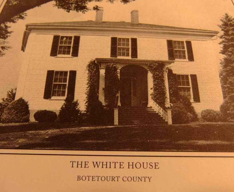 Langhorne, Henry Scarsbrook's home, The White House in Botetourt Co.,Va.