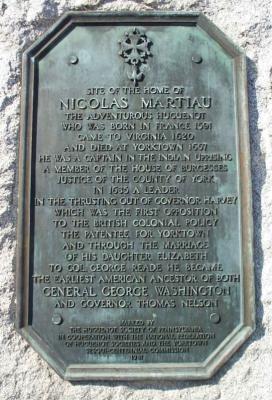 Nicholas Martiau, Ancestor of George Washington and My 9th Great Grandfather -- 52 Ancestors in 52 Weeks (3/6)