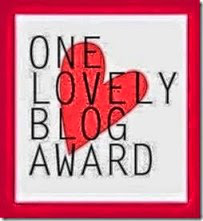 Blog Award, One Lovely Blog Award