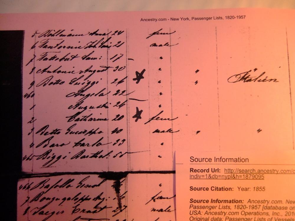Catharina Revaro Botto Raffo--My Italian 2nd Great-Grandmother--52 Ancestors in 52 Weeks, #36 (3/6)