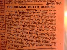 Botto, Wm Joseph resigns as cop due to domestic violence