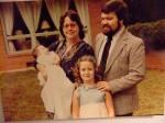 1982-Christening of second child, daughter Margaret Anne Holshouser , with Max, Helen,  Ali