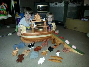 Toys by Max, Noalh's Ark for Liam and Katy and Evie