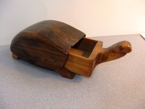 Turtle Box with drawer open