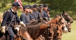 Cavalry Civil War Reenactors