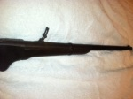 Youngblood, rifle used in Civil War, Lewis J. youngblood, belongs to susan Rawls