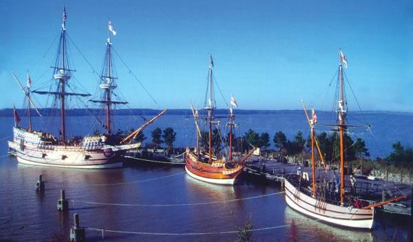 Jamestowne ships
