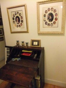 Helen's childhood desk