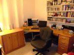 Helen's new desk in her study