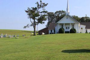 Meadows of Dan Baptist Church, Meadows of Dan, Patrick County, Virginia