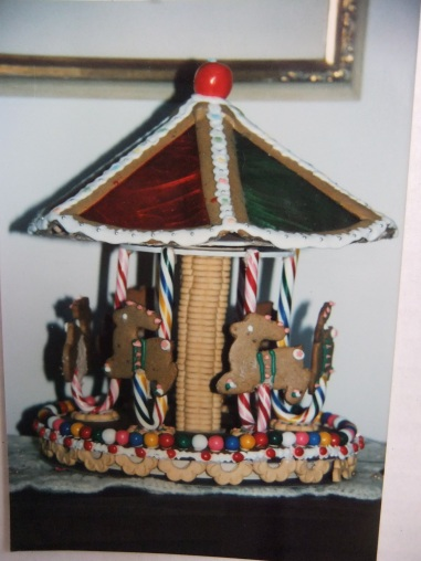 Cakes by Max in gingerbread, carousel