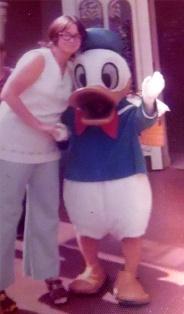 Helen Y. Holshouser, Dec. 1970 at Disney World