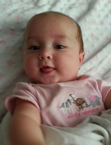 Evie, May 16, 2014, almost 5 months old