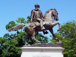 Jeb Stuart, Monument Avenue, Richmond, Va.  From Wikimedia Commons