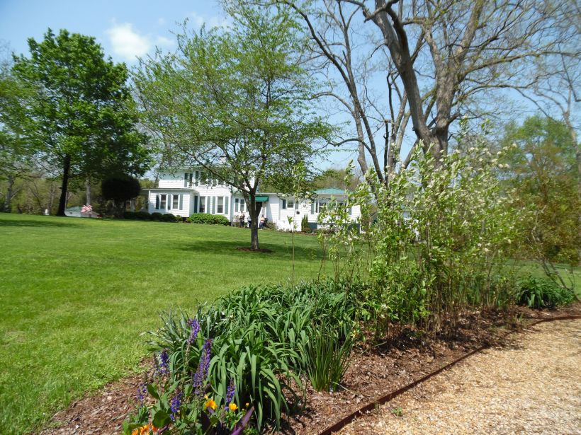 President's Home, Richard Bland College, Petersburg, Virginia, April 21, 2015.Photo by Helen y. Holshouser