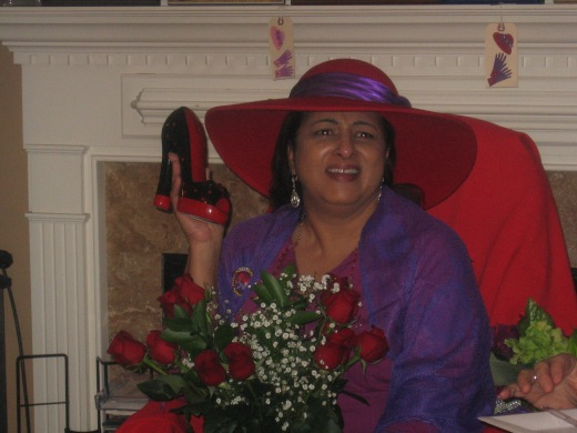 Royal Diva Monica Richardson is reduated, Jan. 14,2013