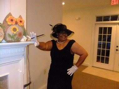 Royal Red Divas, Beverly Reid, Halloween, 2014