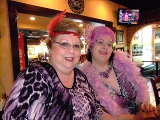 Royal Red Divas, Sharon and Annie