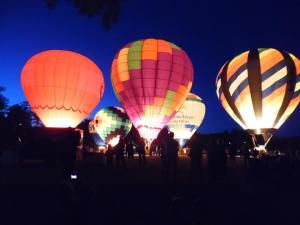 Balloon Fest 2015, glow
