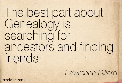 Genealogy Quotation-Lawrence-Dillard-friends-best-Meetville-Quotes-152308