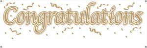 congratulations in gold