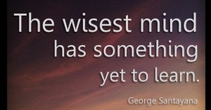 Teaching quote, wisest-mind-george-quote