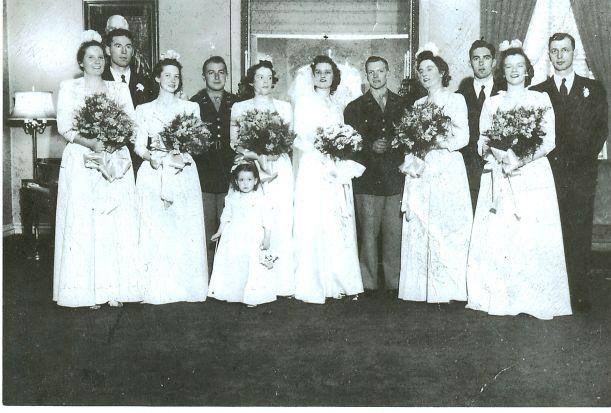 Kerse sisters at Nancy's wedding