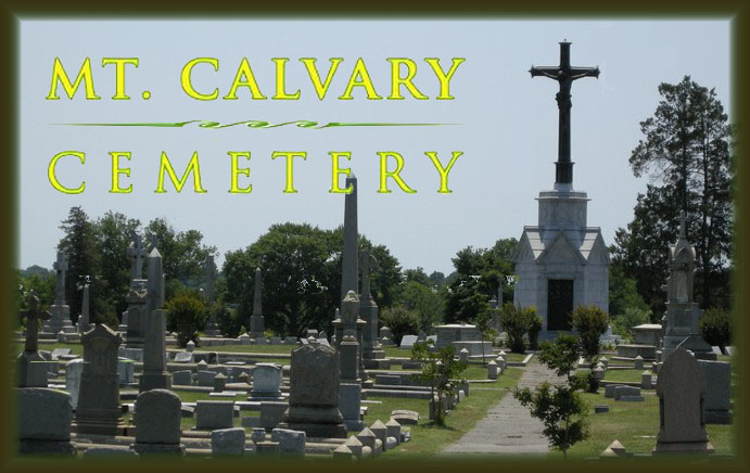 mt calvalry cemetery, richmond, virginia